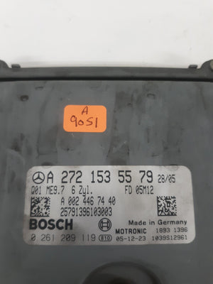 06-08 MERCEDES ML350 R350 ECU ECM ENGINE CONTROL COMPUTER UNIT MODULE 2721535579 - Click Receive Auto Parts