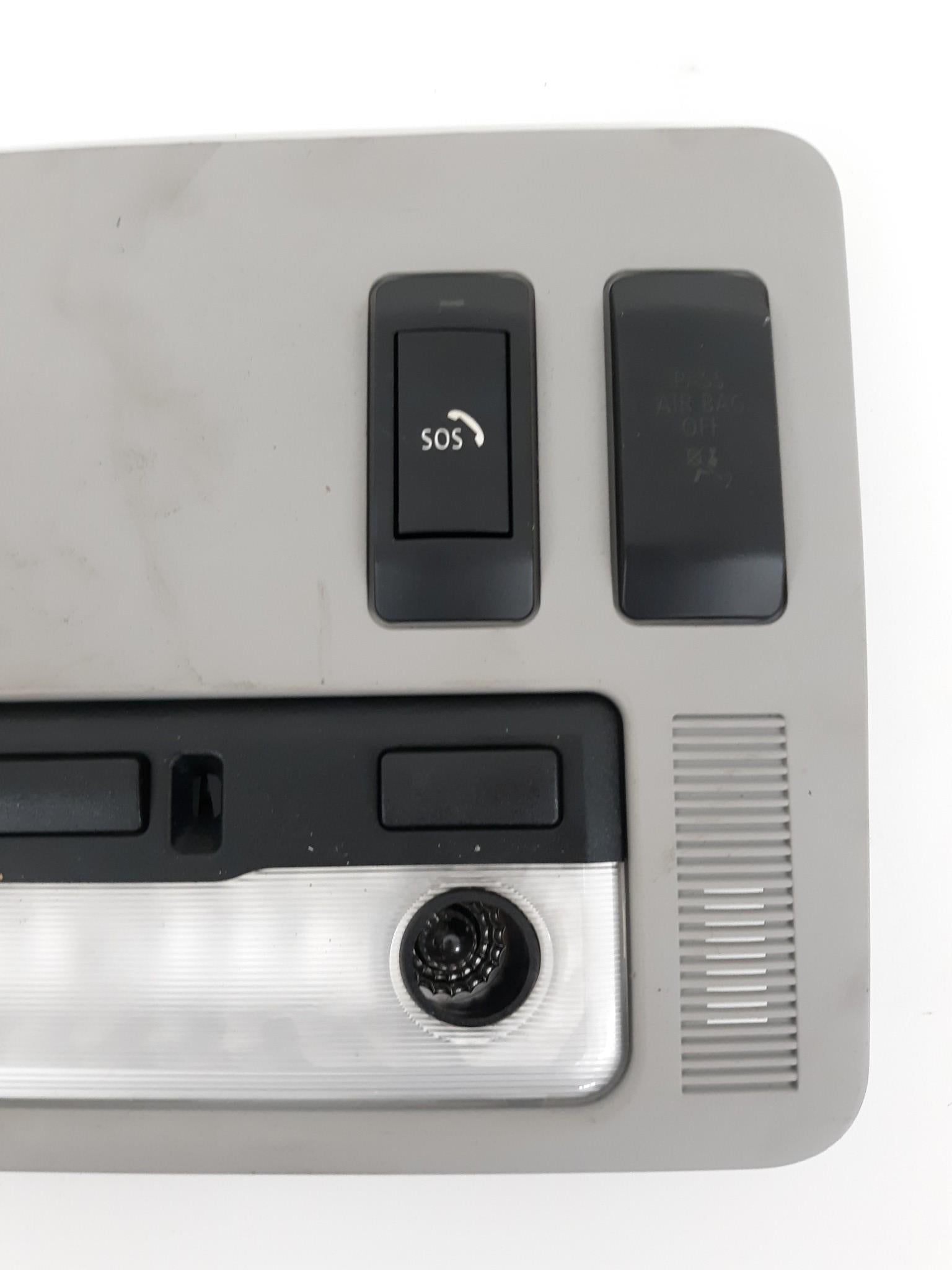 2004-2007 BMW 645Ci 650i FRONT INTERIOR DOME LIGHT SUNROOF SWITCH 7062986 OEM - Click Receive Auto Parts