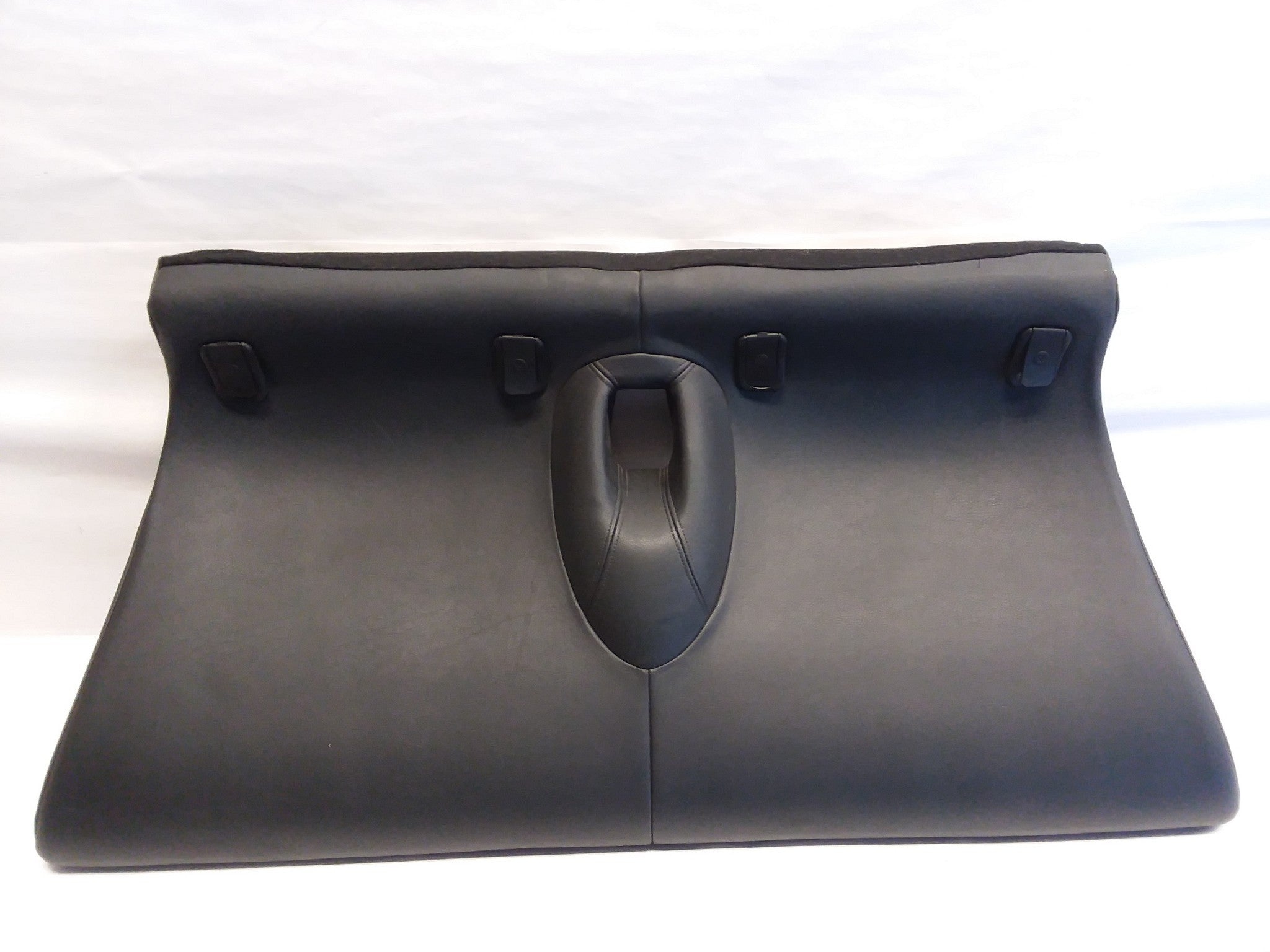 2002 - 2008 MINI COOPER R50 R52 R53 BLACK LEATHER REAR SEAT BOTTOM OEM
