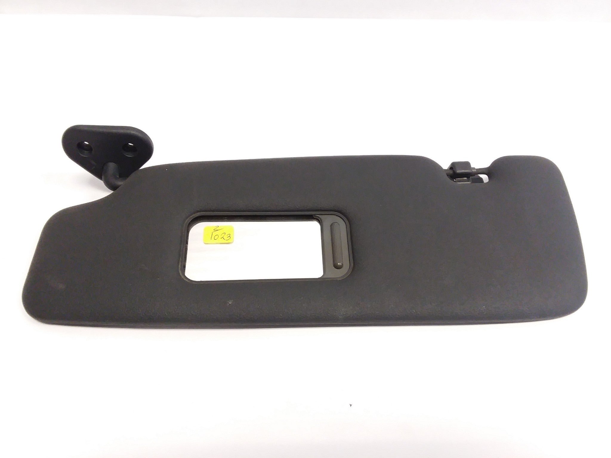 2005-2008 Mini Cooper R52 Convertible Left Driver Side Sunvisor Sun Visor Black