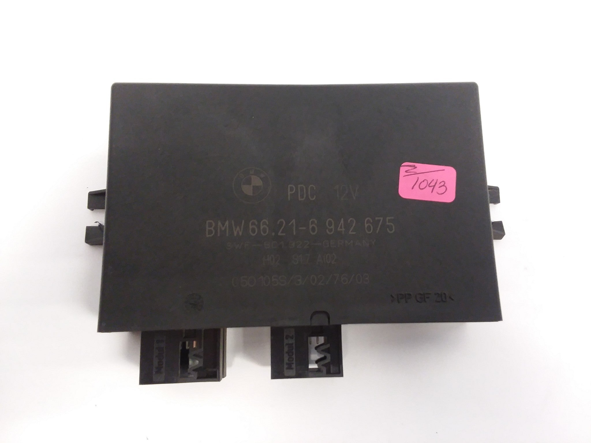 02-08 Mini Cooper R50 R52 R53 Active Parking Distance Control Unit ECU 6942675