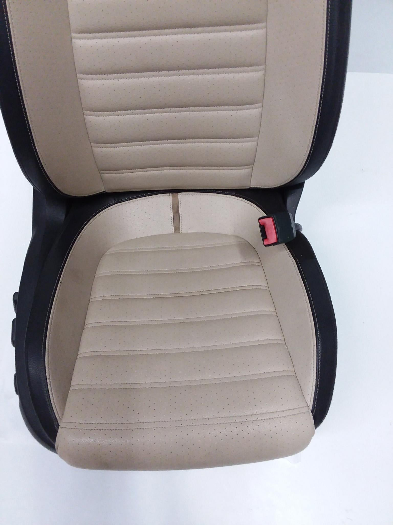 VOLKSWAGEN CC FRONT PASSENGER SIDE POWER BUCKET SEAT LEATHER 2009 2010 2011 OEM