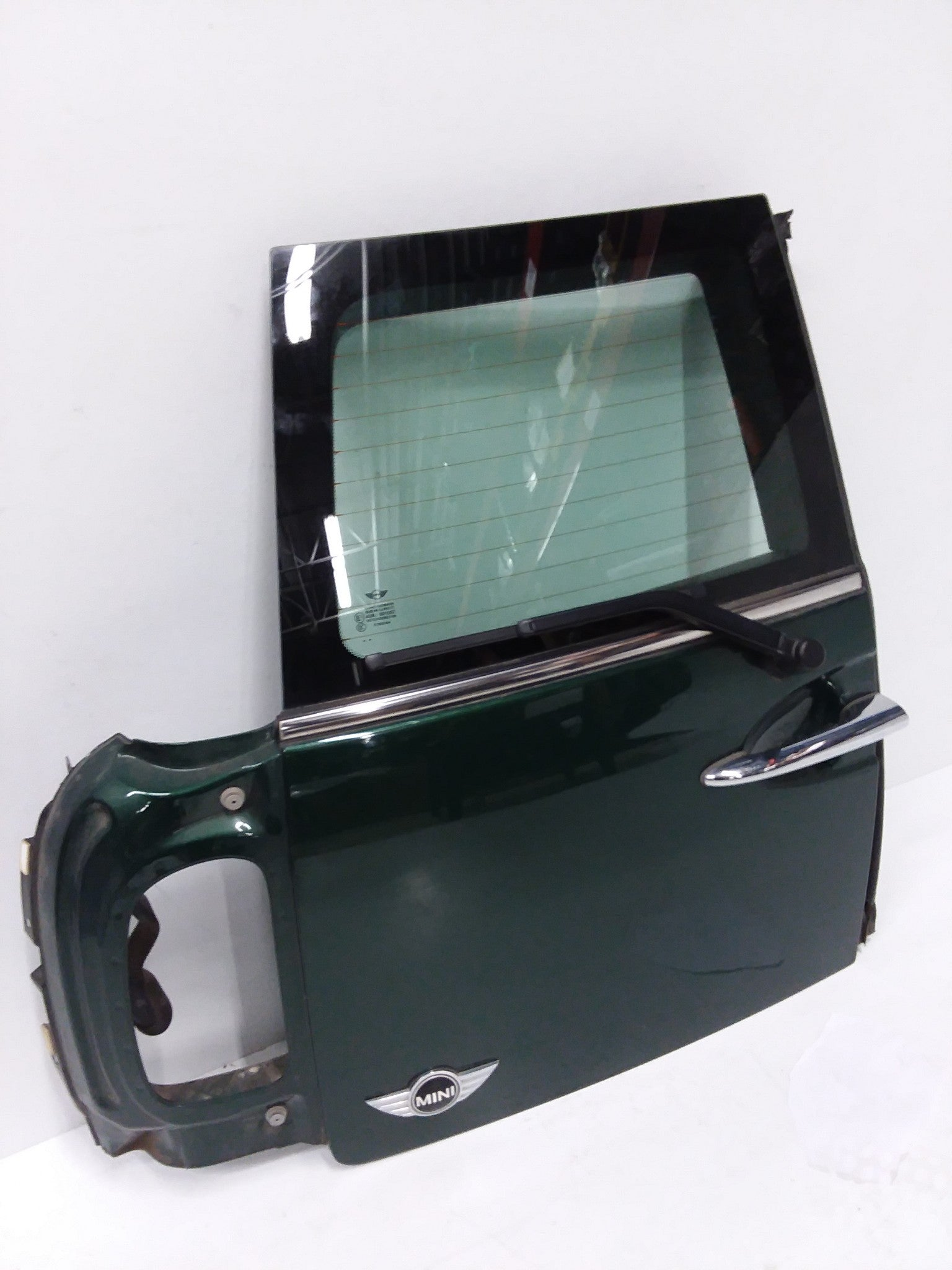 MINI COOPER R55 CLUBMAN REAR LEFT BARN DOOR  2008 2011 2012 2013  2014 GREEN OEM