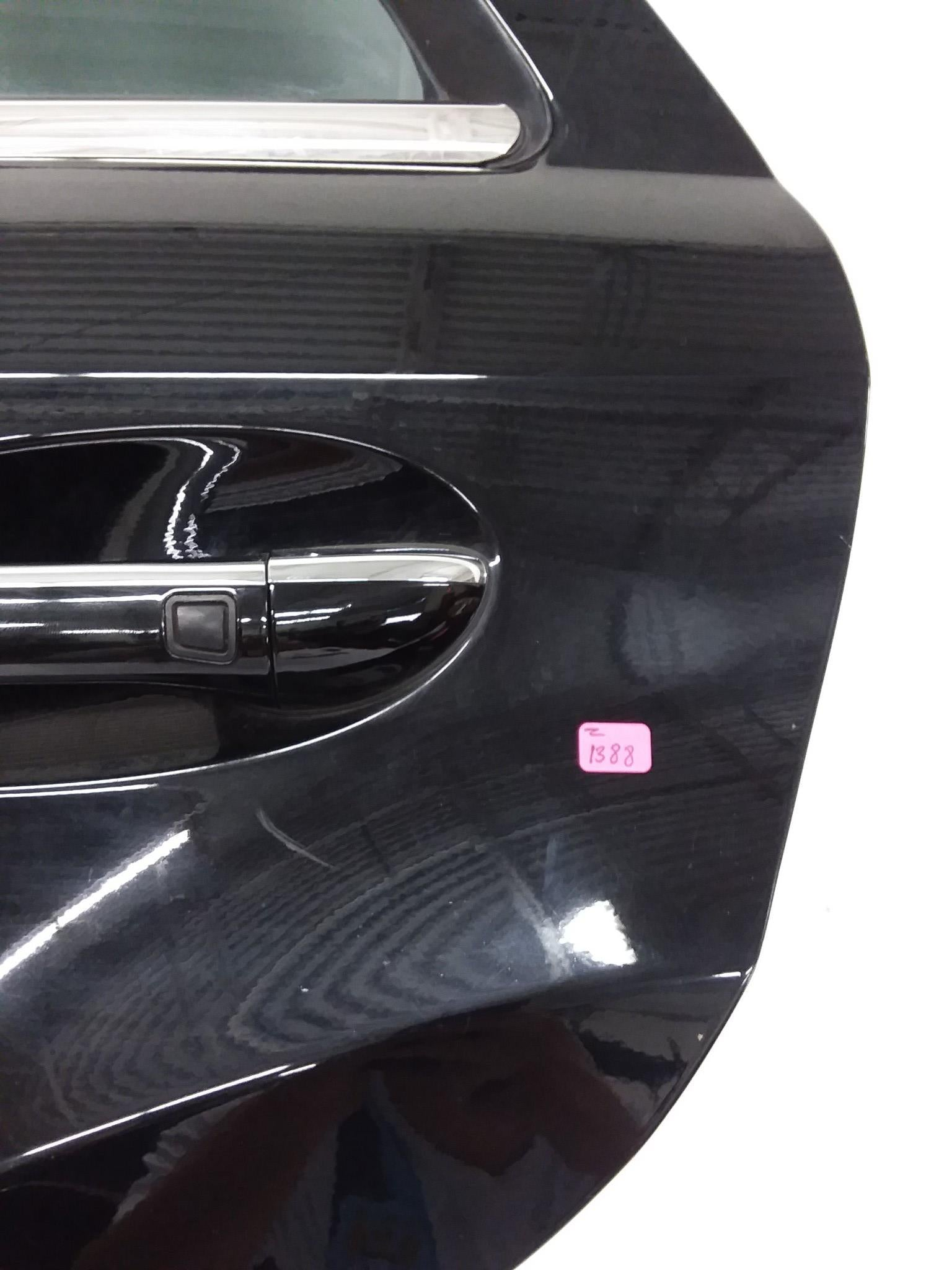 06-12 Mercedes W164 ML320 GL550 Rear Left Driver Side Exterior Door Black - Click Receive Auto Parts