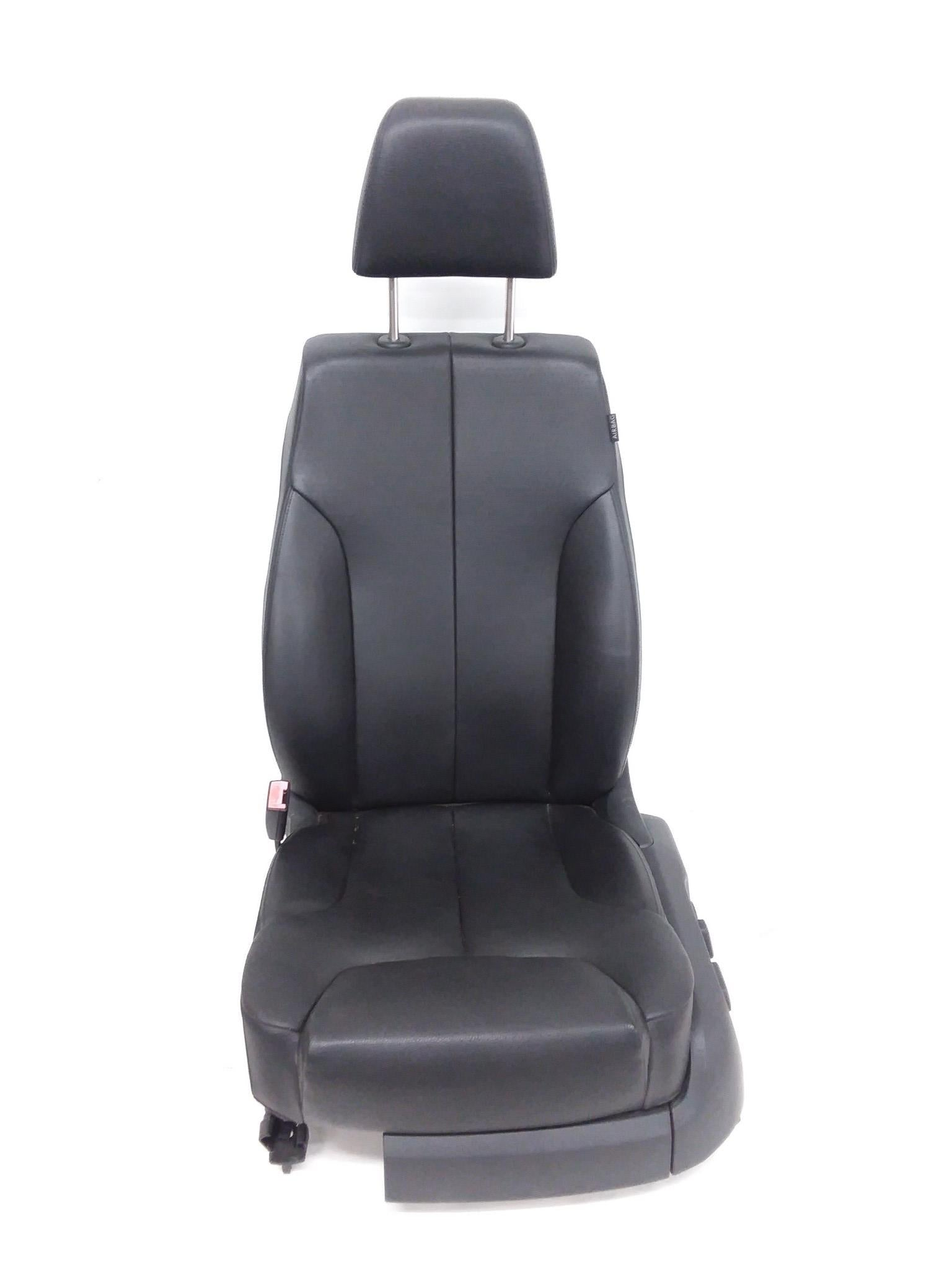 2009 2010 Volkswagen Passat Front Driver Left Seat Leather Black OEM