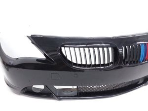 2004 -2007 BMW 650i E64 E63 FRONT BUMPER COVER W/PARKING SENSORS  OEM - Click Receive Auto Parts