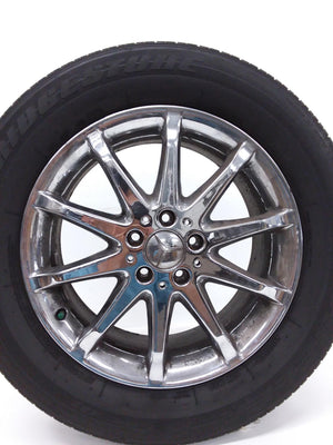 06-09 MERCEDES W251 R350 R500 WHEEL & TIRE 255/55R18 / A2514011102 OEM 5.8/32nds - Click Receive Auto Parts