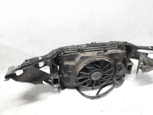 1998 - 2004 Mercedes Benz SLK230 RADIATOR SUPPORT CONDENSER  RADIATOR & FAN OEM