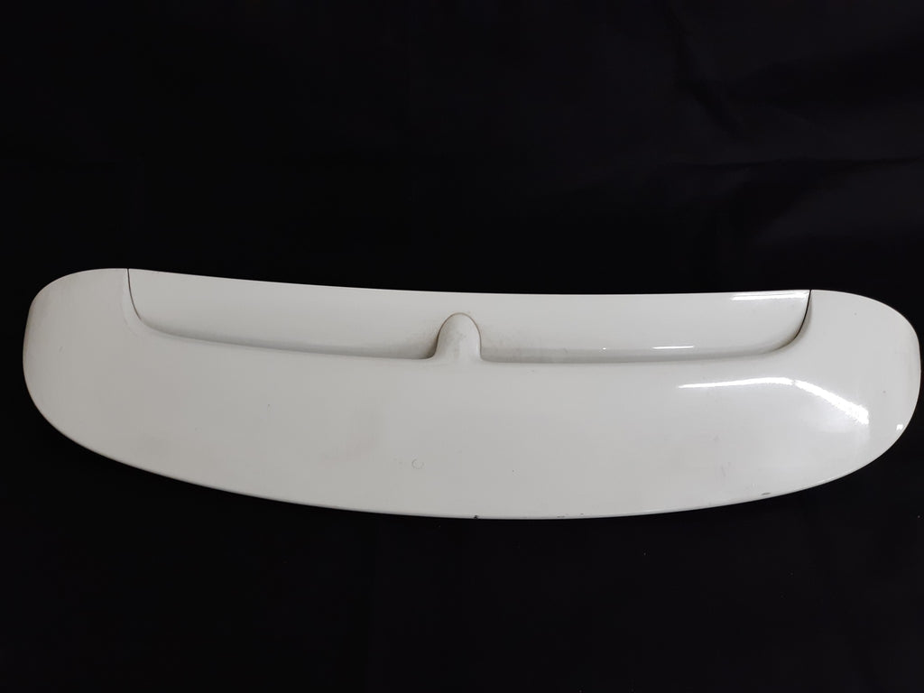 2007 - 2014 MINI COOPER R55 R56 REAR GATE TRUNK LID SPOILER WHITE 7148914 OEM