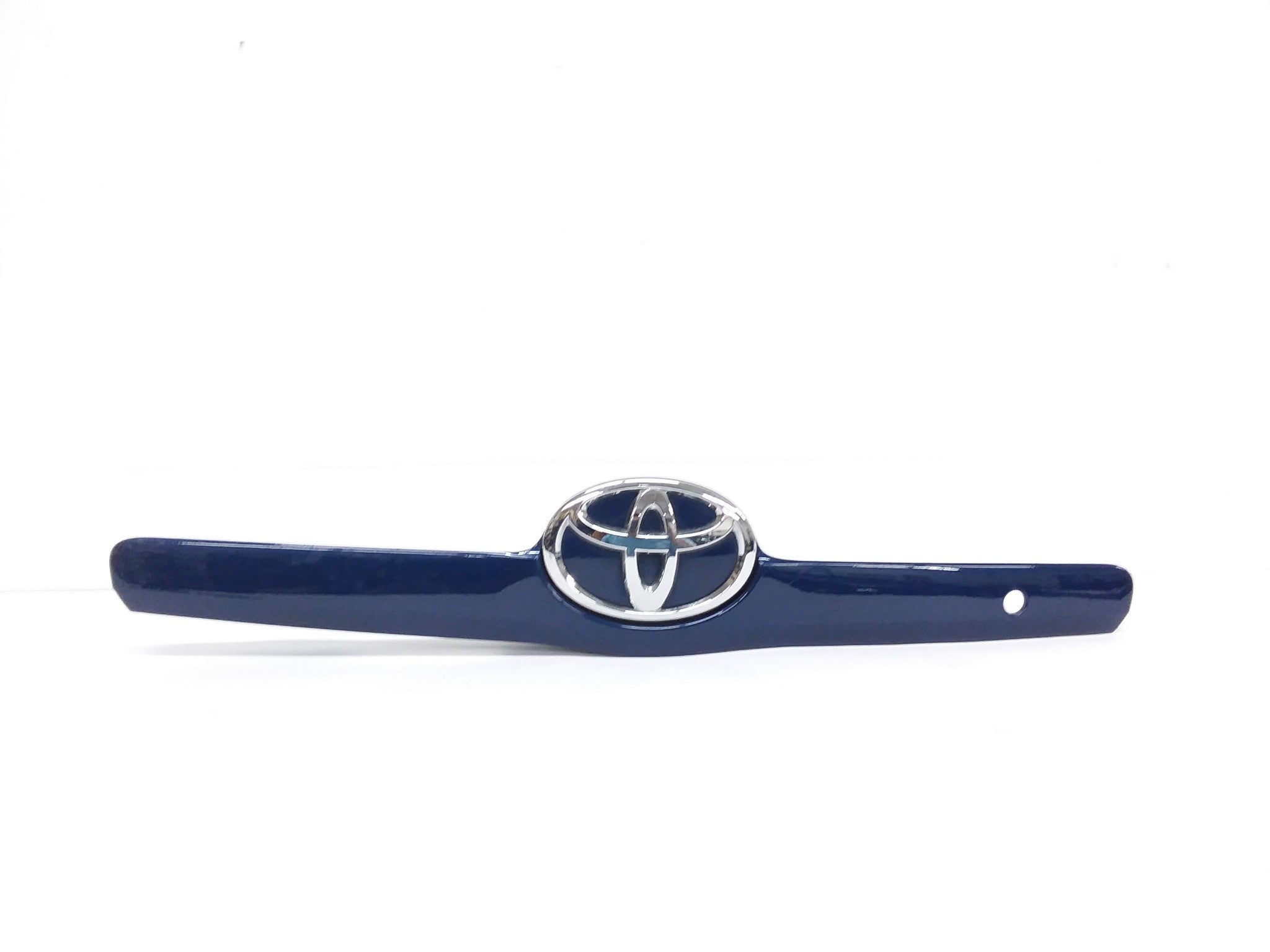 2007 - 2010 Toyota Camry Trunk Lid Garnish Trim w/ Emblem Blue OEM 76801-06120