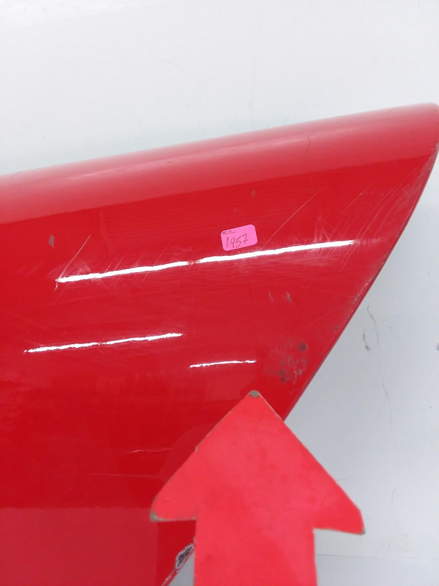 DODGE VIPER RT/10 CONVERTIBLE LEFT SIDE DOOR SHELL 1999-2002 OEM VIPER RED