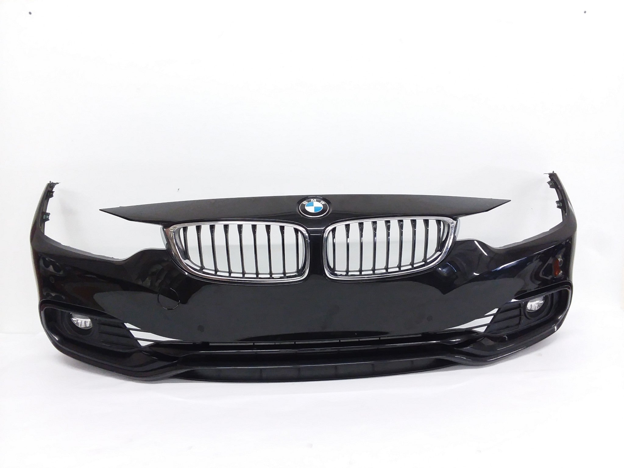 2014-2017 BMW 428I 430I 435I F32 FRONT BUMPER COVER ASSEMBLY BLACK W/SENSORS OEM