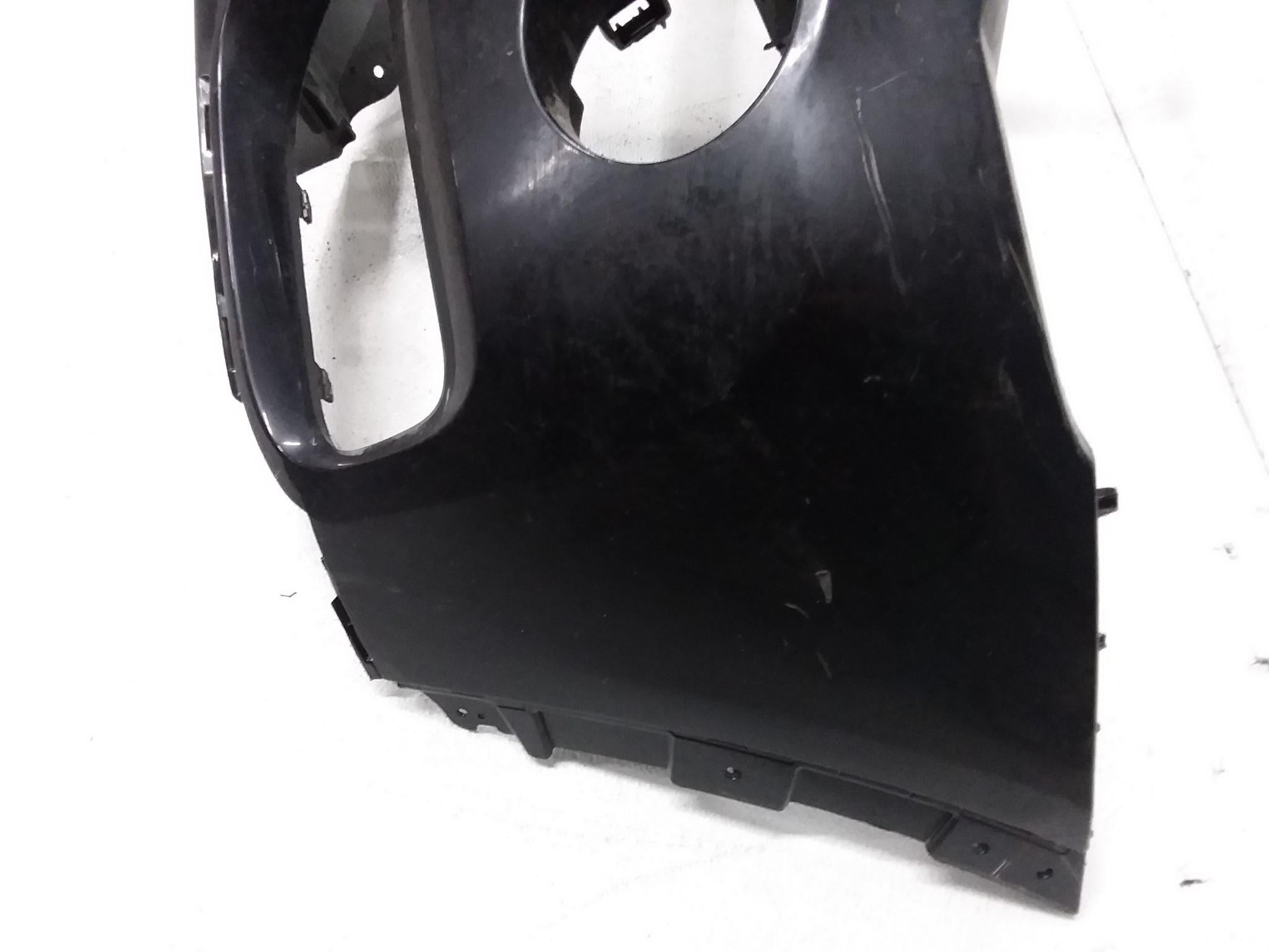 2015 2016 2017 BMW X3 FRONT BUMPER COVER BLACK 7338534 OEM