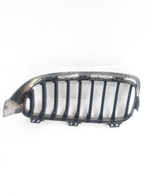 BMW 4 SERIES PASSENGER SIDE KIDNEY GRILL GRILLE 2014 2015 2016 2017 CHROME/BLACK