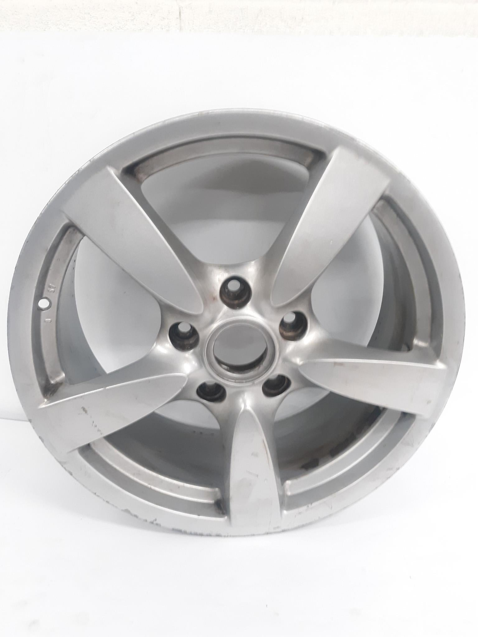 "2006 - 2008 PORSCHE CAYMAN BOXSTER Wheel 18"" INCH 5 Single Spoke 98736213601 OEM"