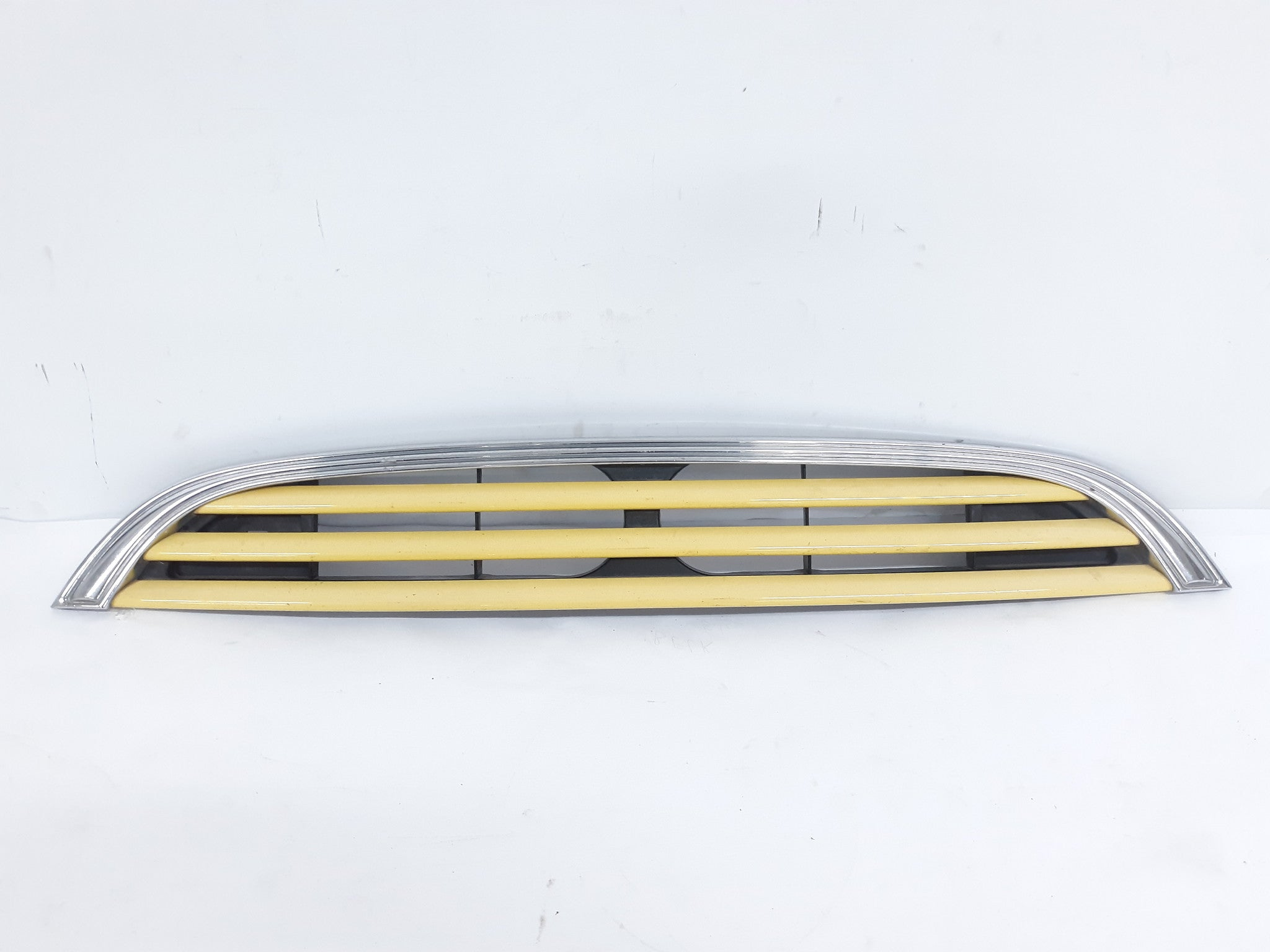 2002 - 2004 Mini Cooper Grille Radiator Support Mounted Yellow OEM - Click Receive Auto Parts