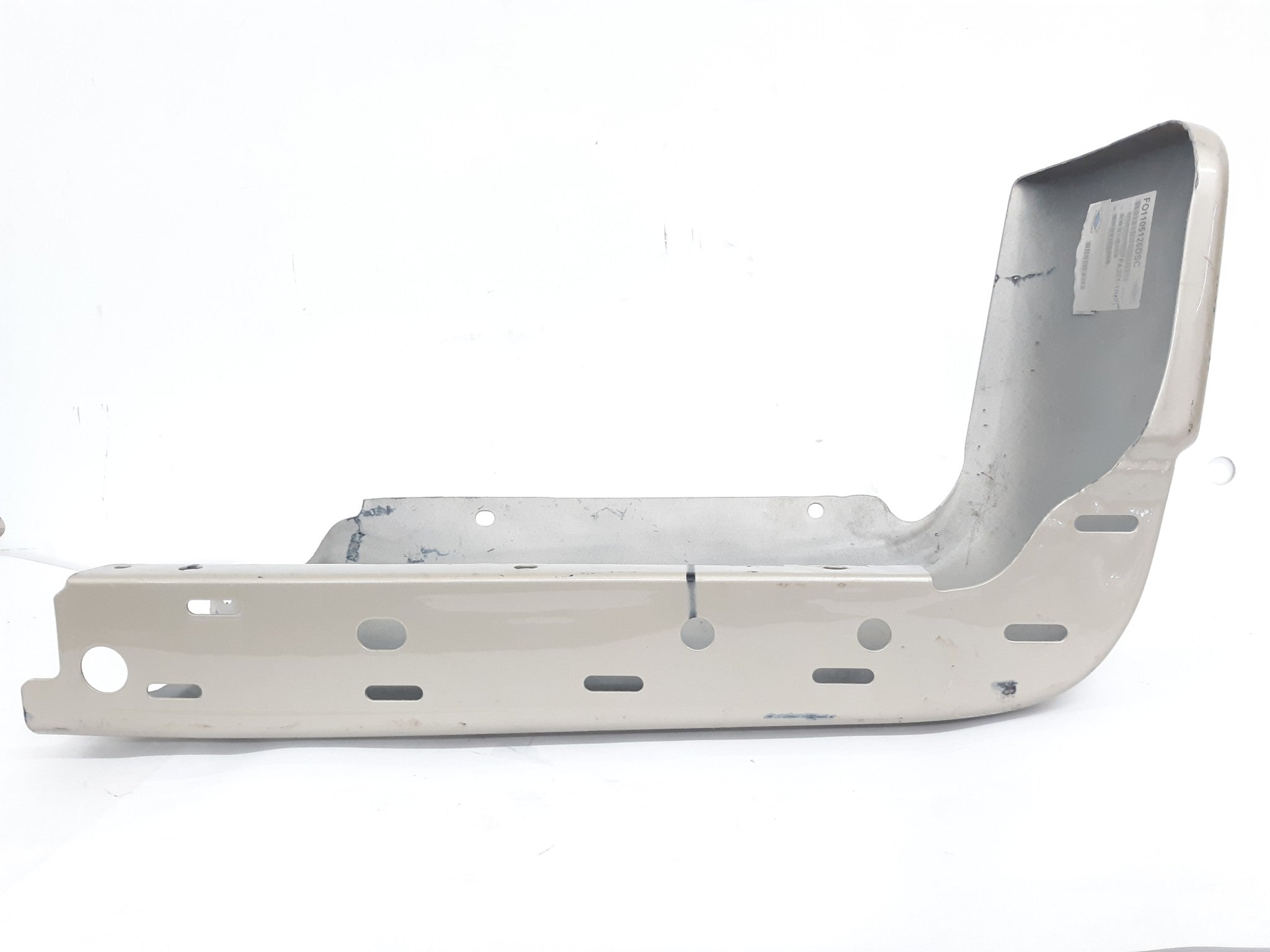 2009 - 2014 Ford F150 Rear Bumper Right End Cap Cover Silver OEM