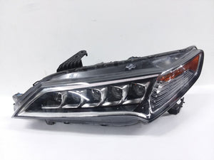 2015 2016 2017 Acura TLX LED Headlight Left LH Driver Side OEM - Click Receive Auto Parts