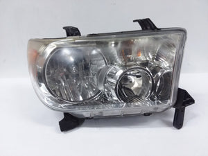 2007-2017 Toyota Tundra Sequoia Headlight Right RH Passenger OEM Halogen - CR Auto Parts