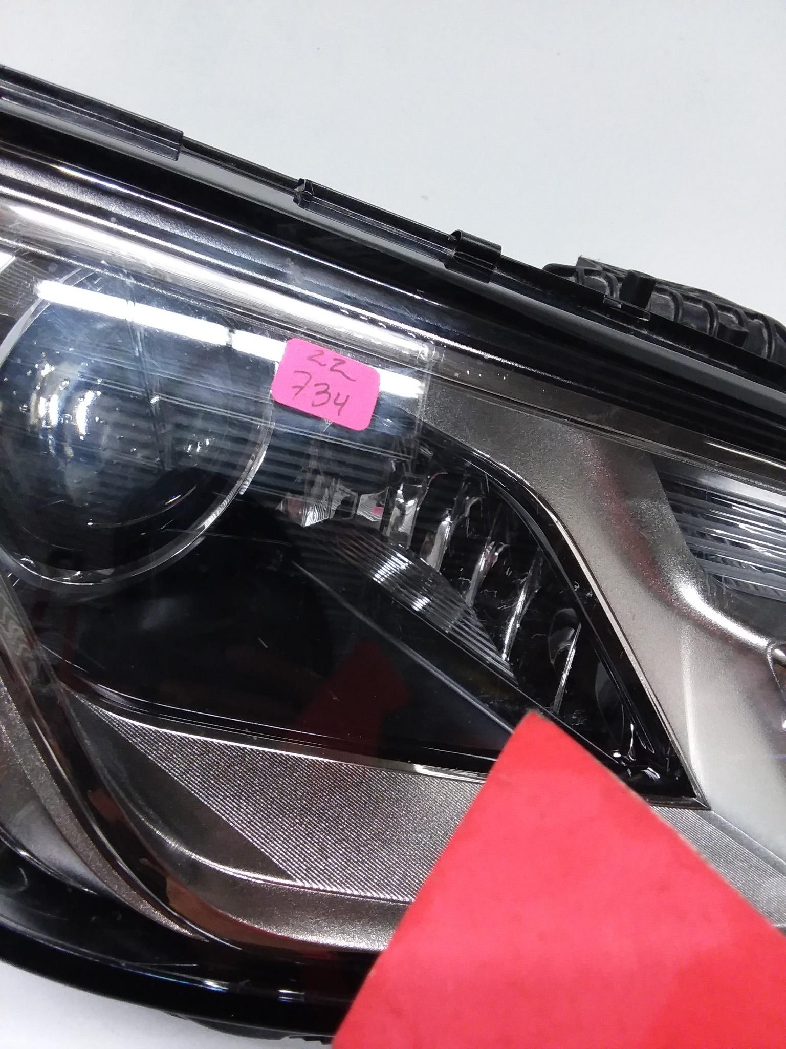 AUDI A4 S4 HEADLIGHT RIGHT PASSENGER RH LED HALOGEN 2017 2018  OEM 8W0941006B