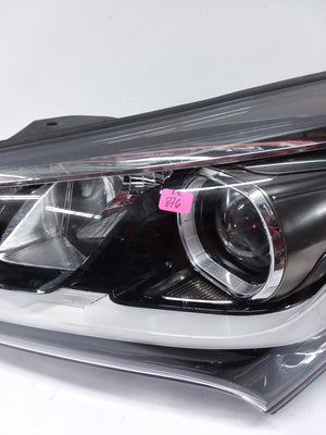 2016 2017 2018 Hyundai Santa Fe Left Driver OEM Halogen Headlight Headlamp - Click Receive Auto Parts