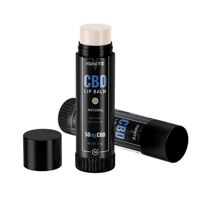 50MG CBD Lip Balm - Natural