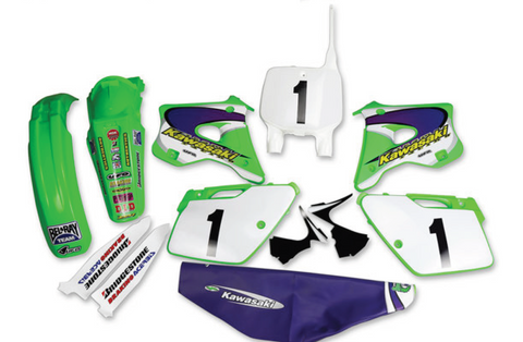 94-98 Kawasaki KX125/250 Jeff Emig Team USA Replica Kit-Complete