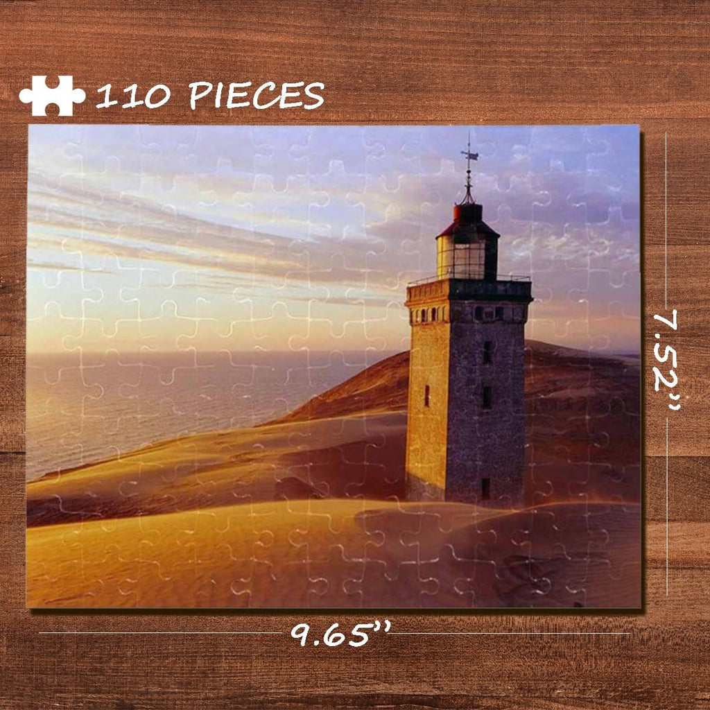 Desert Rectangle Jigsaw Puzzle Best Indoor Gifts 110 Pieces