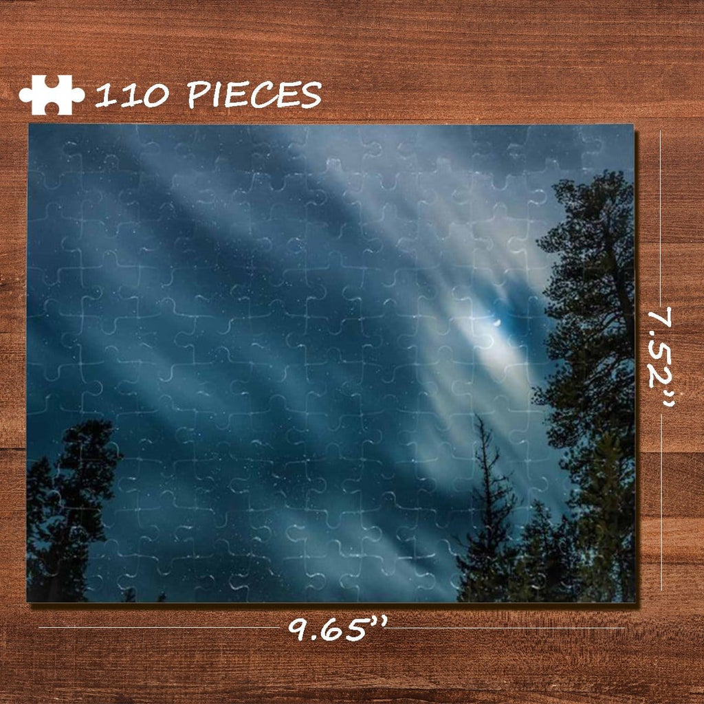 Sky Rectangle Jigsaw Puzzle Best Indoor Gifts 110 Pieces