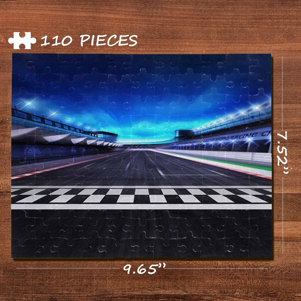 Road Rectangle Jigsaw Puzzle Best Indoor Gifts 110 Pieces