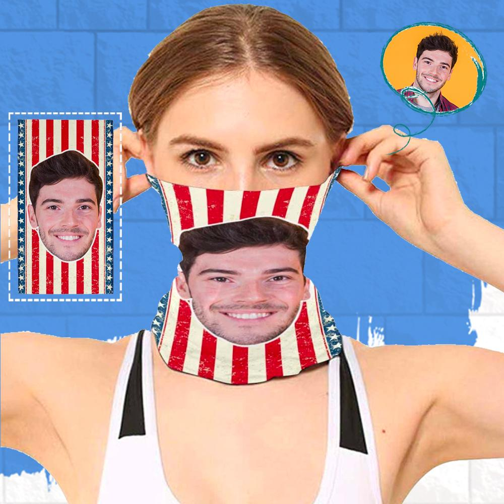 Custom Face Stripes Multifunctional Bandanas