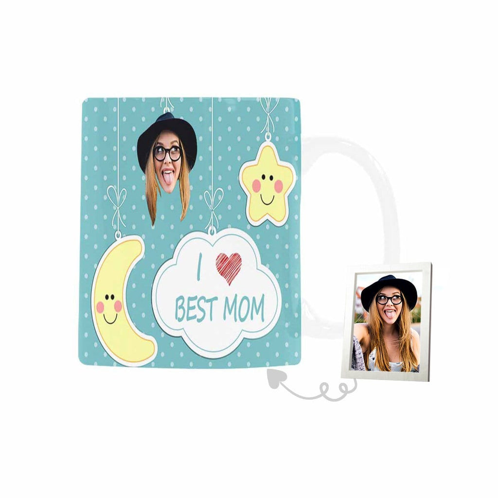 Custom Face Best Mom Classical White Mug