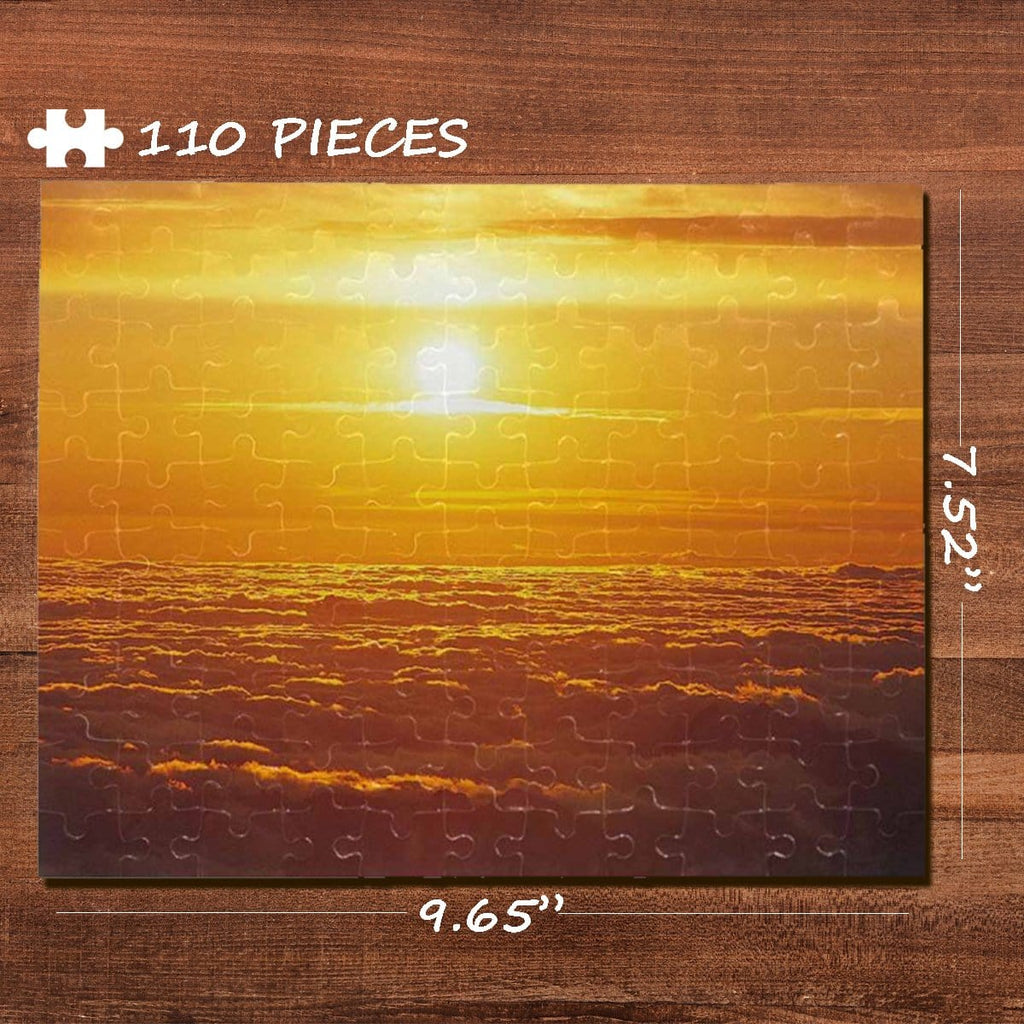 Sun Rectangle Jigsaw Puzzle Best Indoor Gifts 110 Pieces