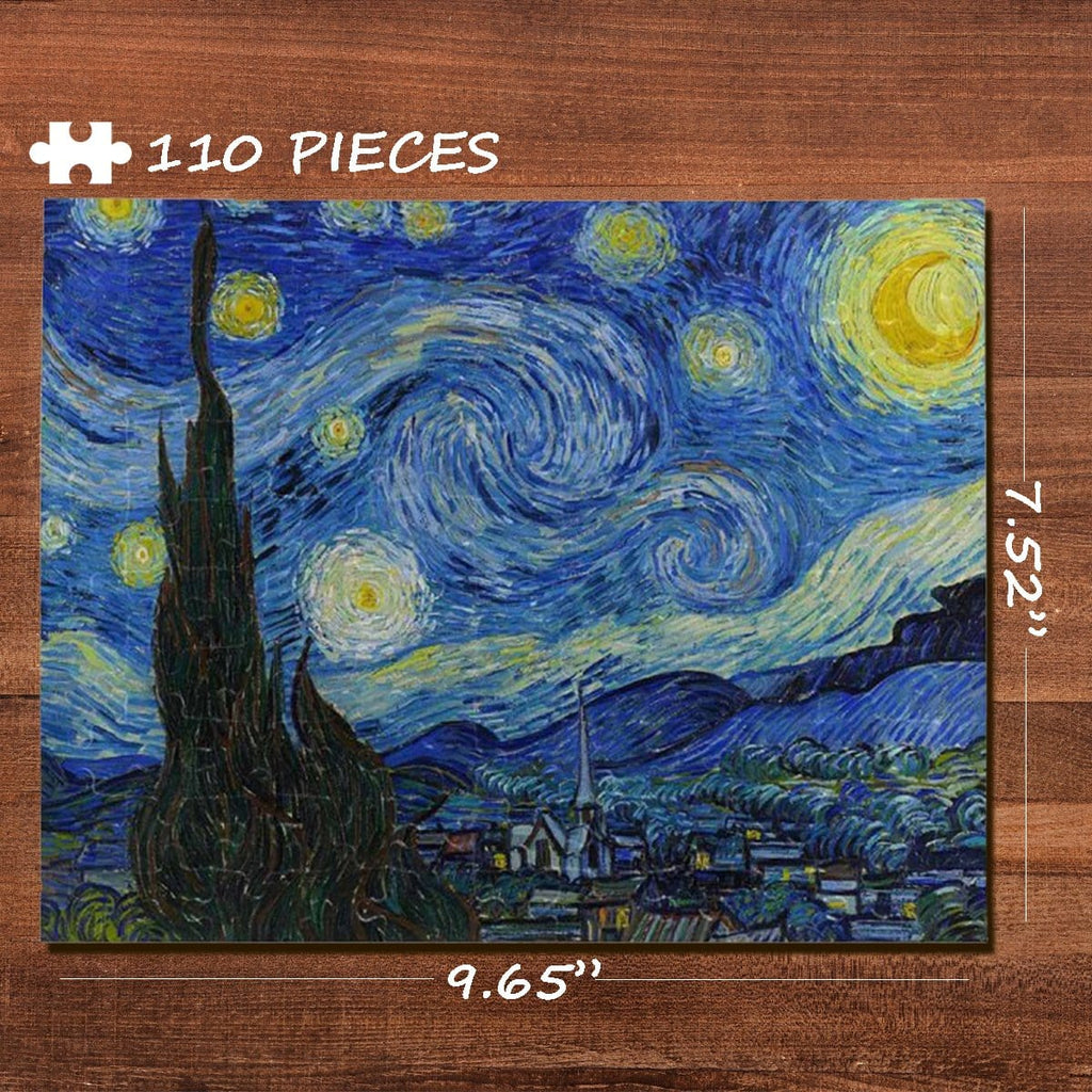 Starry Sky Rectangle Jigsaw Puzzle Best Indoor Gifts 110 Pieces