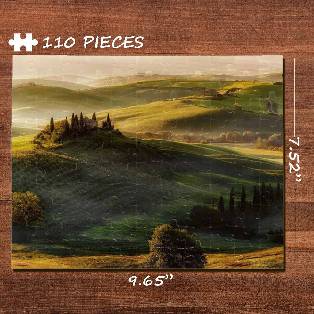 Grassland Jigsaw Puzzle Best Indoor Gifts 110 Pieces
