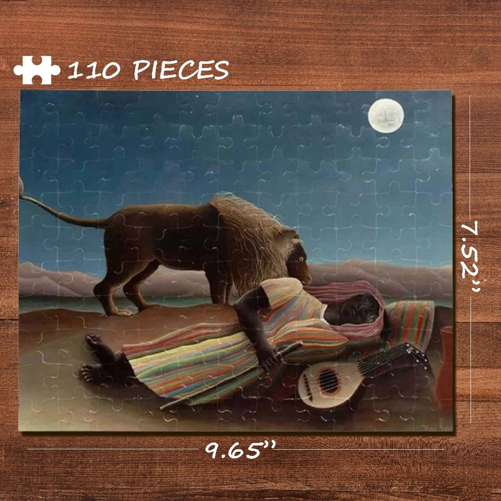 Music Rectangle Jigsaw Puzzle Best Indoor Gifts 110 Pieces