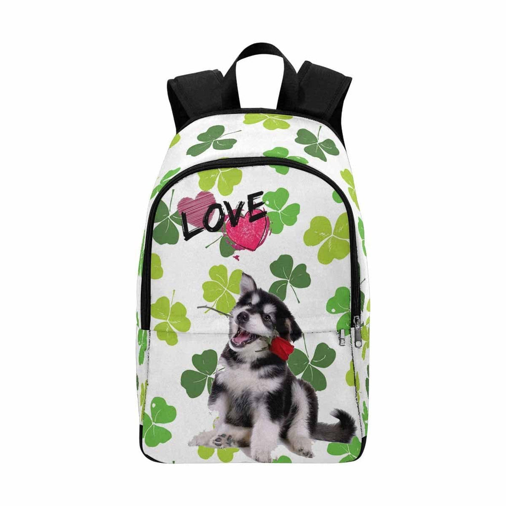 Custom Dog Clover Leaf Backpack