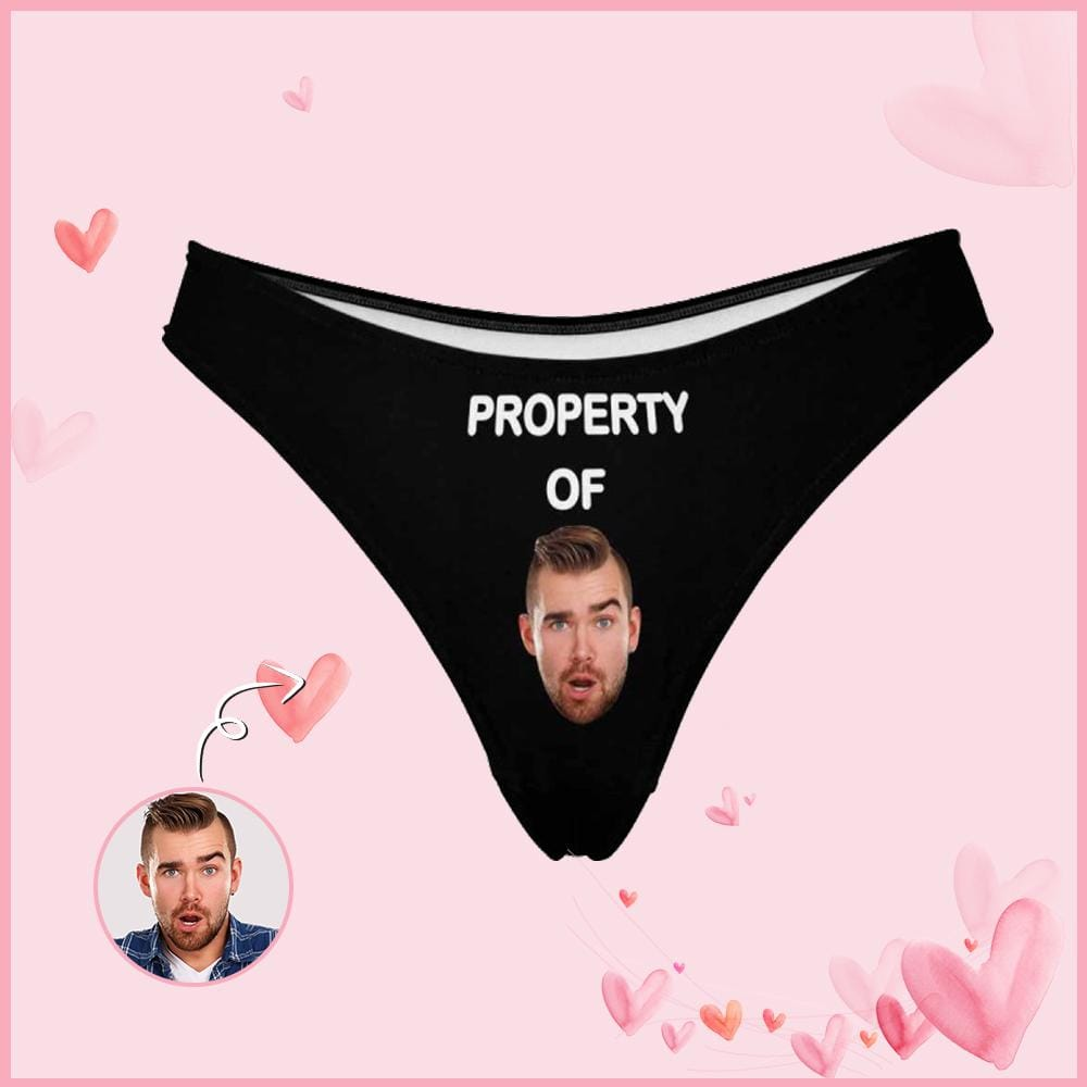 Custom Women's Thongs Property Of You