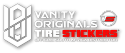 Vanity Originals Tire Stickers ,South Africa's leading Tire Sticker Distributor