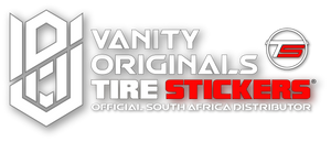 Vanity Originals Tire Stickers