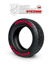 Load image into Gallery viewer, Bridgestone Potenza ( 8x Rubber Decals, Adhesive & Instructions Included )