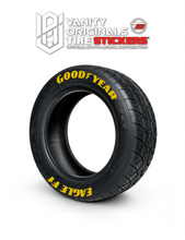Load image into Gallery viewer, Goodyear Eagle F1 ( 8x Rubber Decals, Adhesive & Instructions Included )