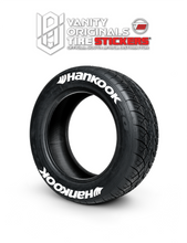 Load image into Gallery viewer, Hankook ( 8x Rubber Decals, Adhesive & Instructions Included )