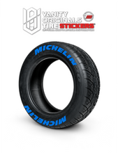 Load image into Gallery viewer, Michelin ( 8x Rubber Decals, Adhesive & Instructions Included )