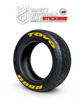 Load image into Gallery viewer, Toyo R888 ( 8x Rubber Decals, Adhesive & Instructions Included )