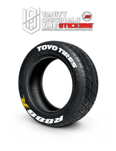 Load image into Gallery viewer, Toyo Tires R888 R ( 8x Rubber Decals, Adhesive & Instructions Included )