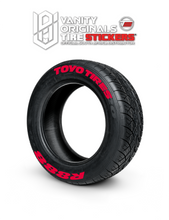 Load image into Gallery viewer, Toyo Tires R888 ( 8x Rubber Decals, Adhesive & Instructions Included )