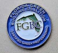 FGBC Certified Green Professional Lapel Pin