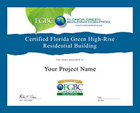 High-Rise Residential Building - Certificate