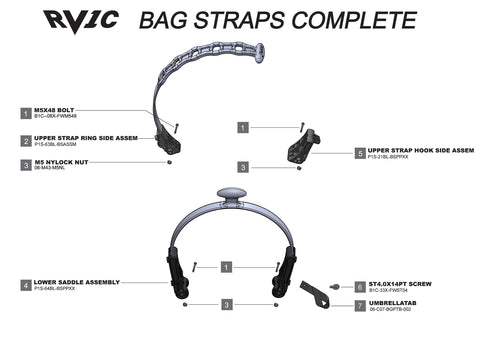 Rovic RV1C - Bag Straps Complete V3